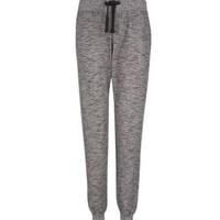 New Look Mobile | Grey Marl Cuffed Joggers