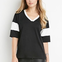 Striped French Terry Jersey