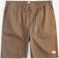 Lira Forever Mens Volley Shorts Khaki  In Sizes