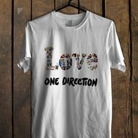 LOVE One Direction T Shirt Mens T Shirt and Womens T Shirt **