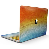 Splattered 4823 Absorbed Watercolor Texture - MacBook Pro with Touch Bar Skin Kit