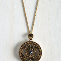 Boho Intrigue Achieved Necklace in Eye by ModCloth