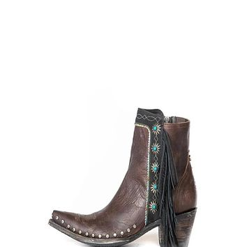 Double D Ranch by Old Gringo Apache Kid Boots- Brass
