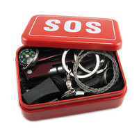 Emergency Equipment SOS Kit Car Earthquake Emergency Supplies SOS Outdoor Camping Survival Tool Survival Gear  88 B2C Sh