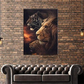 The Beasts Canvas Set