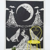 Tarot Moon Tapestry - Urban Outfitters