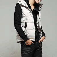 New Style Puffer Vest Jacket with hood