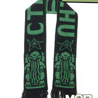 Cthulhu Lovecraft Knit Scarf