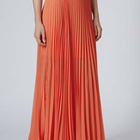 Full Pleat Maxi Skirt