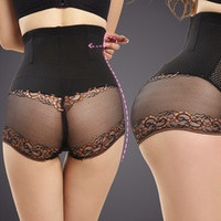 Lace Thigh Slimmer Body Shaper Women Training Corsets Butt Lifter Buttock Enhancer Lift Knickers Panties Tummy Control Girdle [7640726278]