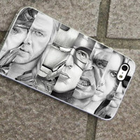 The Avenger Black And White - for iPhone 4/4s/5/5c/5s, Samsung S3/S4 case cover