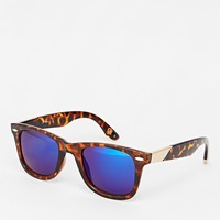 Jeepers Peepers Exclusive to ASOS Mirror Wayfarer Sunglasses
