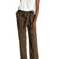 tibi | Enzyme Washed Twill Cargo Pants | Nordstrom Rack