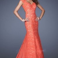 New Long Mermaid Lace Prom Formal Party Evening Pageant Dresses Wedding Gowns