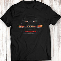 Dodge Challenger R/T Musclecar Auto Racing Car T-shirt 100% Cotton
