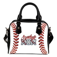 Baseball Mom Shoulder Handbag