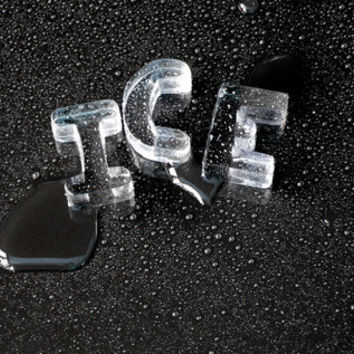 Alphabet Ice by Letter Ice for Suck UK - Free Shipping