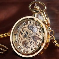 Pocket Watch Vintage Steampunk Mechanical