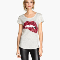 H&M Sequined Top $17.95