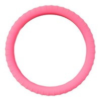 AUDEW Universal Pink Plush Wool Soft Steering Wheel Cover Guard Truck Car Accessory