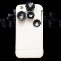 4 in 1 Selfie iPhone 6s 6 Plus & iPhone 5s se 6 6s Case & Lens Adapter Kit Photograph Cover Gift
