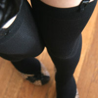 Socks by Sock Dreams » Solid Opaque Thigh High