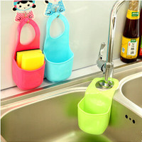 Hot Selling Home Essential Creative Home Kitchen Gadgets Bathroom Soap Toothbrush Razor Storage Box Plastic Hanging Storage Box
