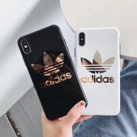 Adidas Gold Mirror Case (Black or White)
