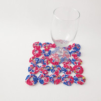 KU Pinwheel Trivet, University of Kansas, Jayhawk Coaster, Kansas Hot Pad