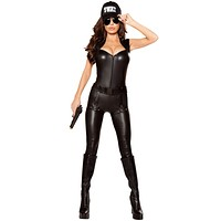 Hot Pursuit Girl's Police Halloween Costume