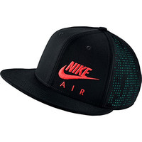 Nike Mens Air Hybrid True Snapback Hat Black/Rio Teal/Bright Crimson