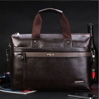 Videng Polo Solid Pu Briefcases For Men Mq-0021