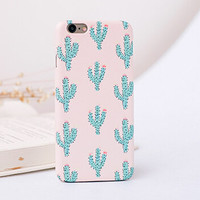 Original Non-slip Cactus iPhone 7 7Plus & iPhone 6s 6 Plus Case + Gift Box
