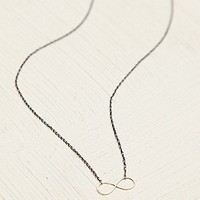 Free People  Infinity Charm Necklace at Free People Clothing Boutique