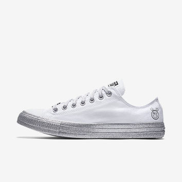The Converse x Miley Cyrus Chuck Taylor All Star Low Top Unisex Shoe.