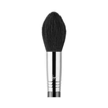 Sigma Beauty - F25 - Tapered Face Brush - Chrome/Copper/Gold
