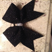 Sparkly cheer bow