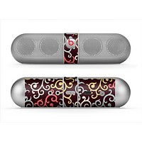 The Pink, Yellow and Blue Vector Swirls Skin for the Beats by Dre Pill Bluetooth Speaker