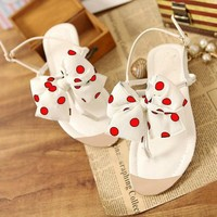 Sweet Bowknot Sandals for Girls
