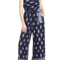 Band of Gypsies Bandana Print Jumpsuit | Nordstrom