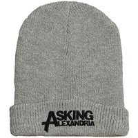 Asking Alexandria Men's Logo Beanie Grey