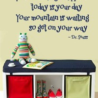 WALL DECAL You're off to Great Places Dr. Seuss  LARGE