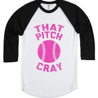 That Pitch Cray-Unisex White/Black T-Shirt