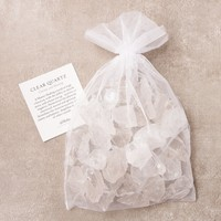 Clear Quartz Crystal Bath Stones