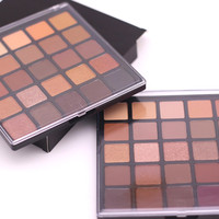 25 color copper eyeshadow palette, bronzed palette, metallic & shimmer & matter make up smoky/warm eye shadow kit