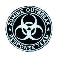 Zombie Outbreak Response Team Patch Iron on Applique Clothing Walking Dead