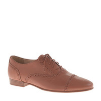J.Crew Womens Leather Oxfords