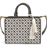Tory Burch Small Robinson Woven Leather Tote | Nordstrom