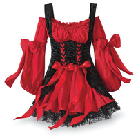 Pirate Vixen Wench Dress - New Age, Spiritual Gifts, Yoga, Wicca, Gothic, Reiki, Celtic, Crystal, Tarot at Pyramid Collection