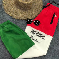 '' Moschino '' Women Retro Pants